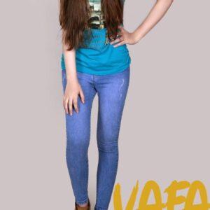 شلوار جین وفا کد 7104