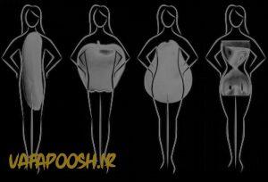 فرم بدن زن